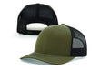 Load image into Gallery viewer, Greater Half Snapback Hat Build The Wall Black Leather Patch Hat (7 Variants)