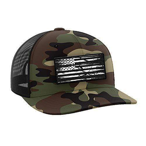 Tactical Pro Supply Snapback Hat Camo Flag / Army Multicam / OSFA Army Multicam Snapback Hat (2 Variants)