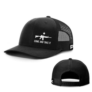 Printed Kicks Snapback Hat Full Black / Snapback Hat / OSFA Come and Take It Lower Left Hats
