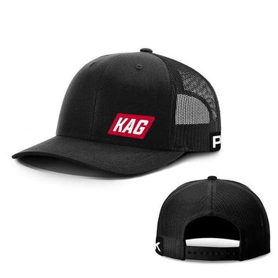 Printed Kicks Snapback Hat Full Black / Snapback Hat / OSFA Keep America Great Back Mesh Hat (10 Variants)