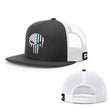 Load image into Gallery viewer, Printed Kicks Snapback Hat Thin Blue Line (TBL) Punisher Snapback Hat (14 Variants)