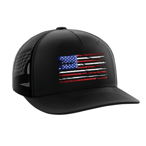Tactical Pro Supply Snapback Hat U.S. Flag / Black / OSFA American Flag Tactical Snapback Hat (6 Variants)