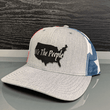 Load image into Gallery viewer, Print Brains Snapback Hat We The People USA Leather Patch Hat (6 Variants)