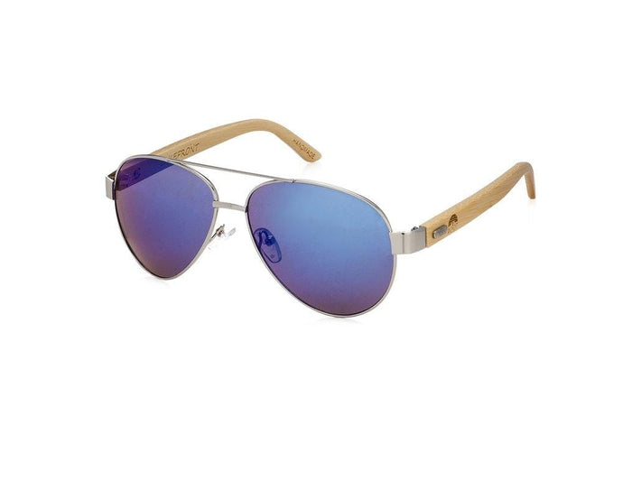 Root Sunglasses LAKEFRONT | SILVER Polarized Silver Frame Sunglasses