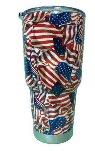 American Patriots Apparel Tumbler 20 oz. Patriotic (20 or 30 oz.) Stainless Steel Tumbler