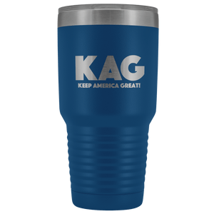 teelaunch Tumbler Blue / 30 oz. 30 oz. Keep America Great (KAG) Tumbler (12 Variants)