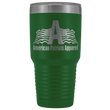 Load image into Gallery viewer, teelaunch Tumbler Green / 30 oz. 30 oz. American Patriots Apparel Tumbler (12 Variants)