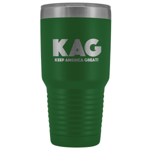 teelaunch Tumbler Green / 30 oz. 30 oz. Keep America Great (KAG) Tumbler (12 Variants)
