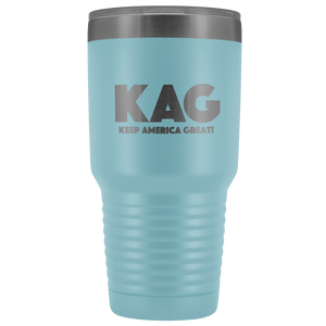 teelaunch Tumbler Light Blue / 30 oz. 30 oz. Keep America Great (KAG) Tumbler (12 Variants)