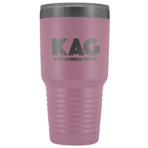 teelaunch Tumbler Light Purple / 30 oz. 30 oz. Keep America Great (KAG) Tumbler (12 Variants)