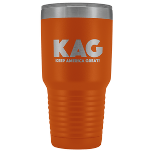 teelaunch Tumbler Orange / 30 oz. 30 oz. Keep America Great (KAG) Tumbler (12 Variants)