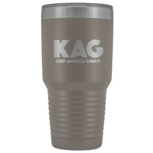teelaunch Tumbler Pewter / 30 oz. 30 oz. Keep America Great (KAG) Tumbler (12 Variants)