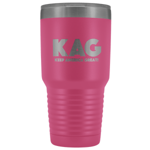 teelaunch Tumbler Pink / 30 oz. 30 oz. Keep America Great (KAG) Tumbler (12 Variants)