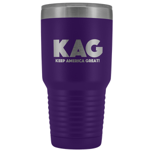 teelaunch Tumbler Purple / 30 oz. 30 oz. Keep America Great (KAG) Tumbler (12 Variants)