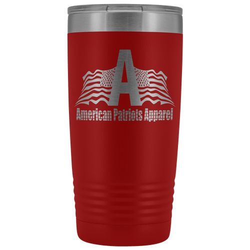 teelaunch Tumbler Red / 20 oz. 20 oz. American Patriots Apparel Tumbler (12 Variants)
