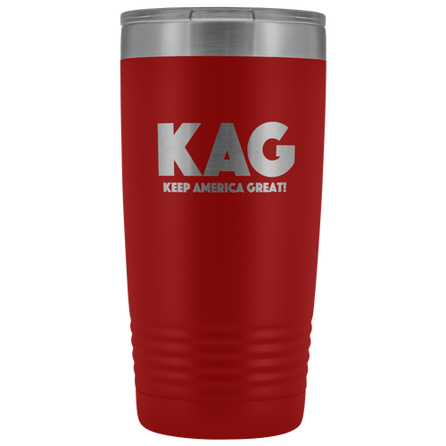 teelaunch Tumbler Red / 20 oz. 20 oz. Keep America Great (KAG) Tumbler (12 Variants)