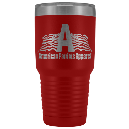 teelaunch Tumbler Red / 30 oz. 30 oz. American Patriots Apparel Tumbler (12 Variants)
