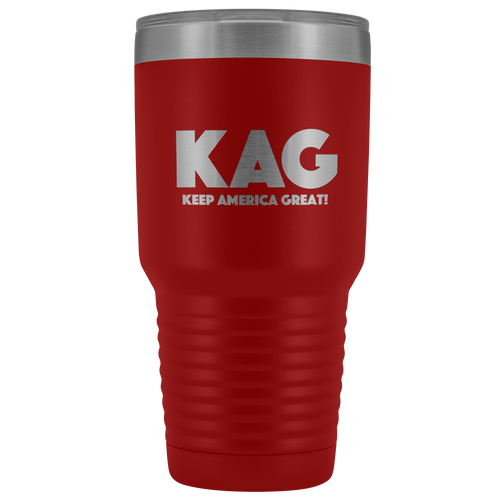 teelaunch Tumbler Red / 30 oz. 30 oz. Keep America Great (KAG) Tumbler (12 Variants)