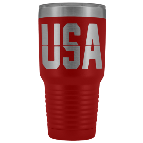 teelaunch Tumbler Red / 30 oz. 30 oz. USA Tumbler (12 Variants)