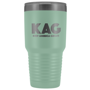 teelaunch Tumbler Teal / 30 oz. 30 oz. Keep America Great (KAG) Tumbler (12 Variants)