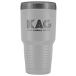 Load image into Gallery viewer, teelaunch Tumbler White / 30 oz. 30 oz. Keep America Great (KAG) Tumbler (12 Variants)