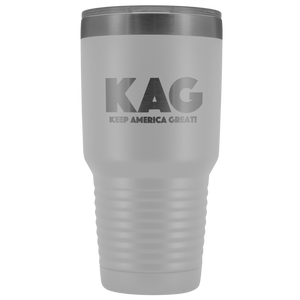teelaunch Tumbler White / 30 oz. 30 oz. Keep America Great (KAG) Tumbler (12 Variants)