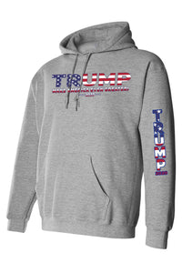 American Patriots Apparel Unisex Trump USA Make America Even Greater Pullover Hoodie