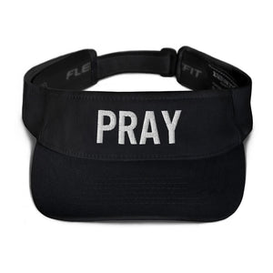 American Patriots Apparel Visor Black / OSFA Pray Flexfit Visor (5 Variants)