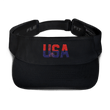 Load image into Gallery viewer, American Patriots Apparel Visor Black / OSFA Red & Navy Blue USA Statue of Liberty Visor (5 Variants)