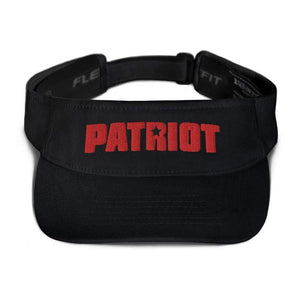 American Patriots Apparel Visor Black / OSFA Red Patriot Transparent Star Flexfit Visor (5 Variants)