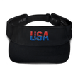 Load image into Gallery viewer, American Patriots Apparel Visor Black / OSFA Red & Royal Blue USA Statue of Liberty Visor (5 Variants)