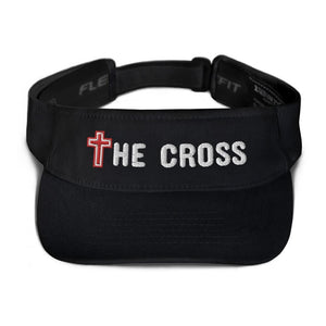 American Patriots Apparel Visor Black / OSFA The Cross Flexfit Visor (5 Variants)