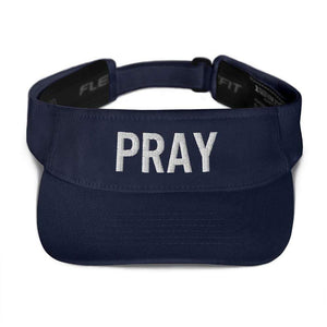 American Patriots Apparel Visor Navy / OSFA Pray Flexfit Visor (5 Variants)