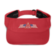 Load image into Gallery viewer, American Patriots Apparel Visor Red / OSFA American Patriots Apparel Flags Logo Flexfit Visor (5 Variants)