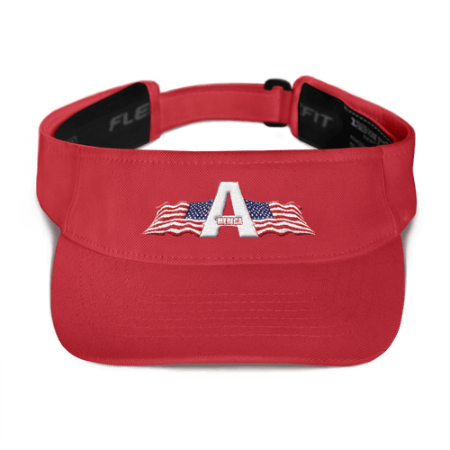 American Patriots Apparel Visor Red / OSFA American Patriots Apparel Logo 3D Visor (5 Variants)