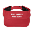 Load image into Gallery viewer, American Patriots Apparel Visor Red / OSFA MAKE AMERICA BORN AGAIN Visor (5 Variants)