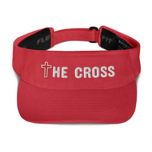 American Patriots Apparel Visor Red / OSFA The Cross Flexfit Visor (5 Variants)