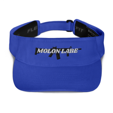 American Patriots Apparel Visor Royal / OSFA Molon Labe AR-15 Flexfit Visor (5 Variants)