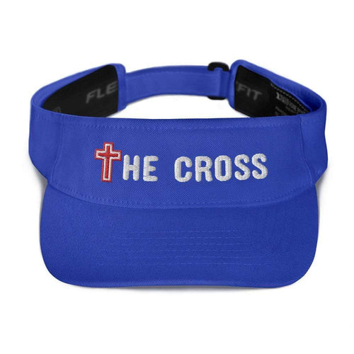 American Patriots Apparel Visor Royal / OSFA The Cross Flexfit Visor (5 Variants)