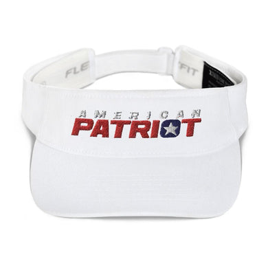 American Patriots Apparel Visor White / OSFA American Patriot V1 Flexfit Visor (5 Variants)