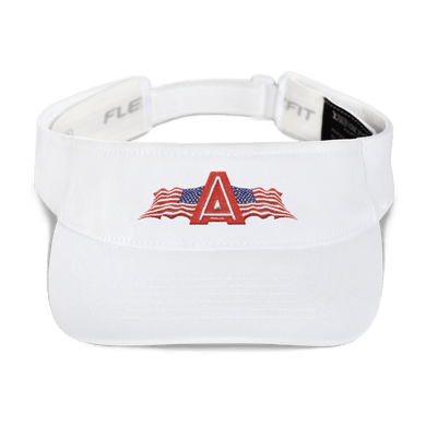 American Patriots Apparel Visor White / OSFA American Patriots Apparel Flags Logo Flexfit Visor (5 Variants)
