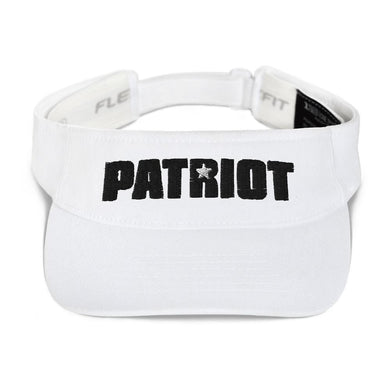 American Patriots Apparel Visor White / OSFA Black Patriot White Star Flexfit Visor (5 Variants)