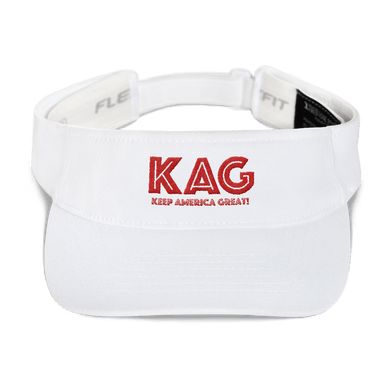 American Patriots Apparel Visor White / OSFA KAG KEEP AMERICA GREAT Flexfit Visor (5 Variants)