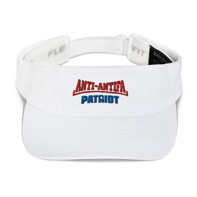 American Patriots Apparel Visor White / OSFA Red Anti-Antifa Royal Patriot Transparent Star Visor (5 Variants)
