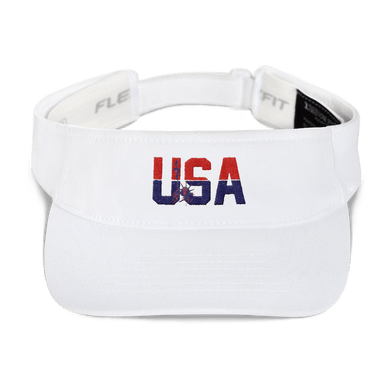 American Patriots Apparel Visor White / OSFA Red & Navy Blue USA Statue of Liberty Visor (5 Variants)