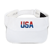 Load image into Gallery viewer, American Patriots Apparel Visor White / OSFA Red & Royal Blue USA Statue of Liberty Visor (5 Variants)
