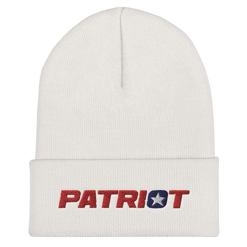 American Patriots Apparel White Star Patriot Cuffed Beanie (6 Variants)