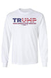 Load image into Gallery viewer, American Patriots Apparel White / XLARGE / FRONT Unisex Trump USA Make America Even Greater Long Sleeve Shirt