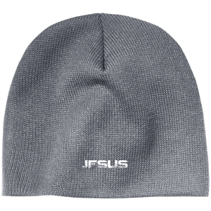 CustomCat Winter Hats Athletic Oxford / One Size JESUS CP91 100% Acrylic Beanie (5 Variants)