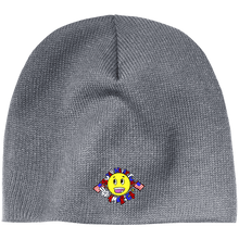 Load image into Gallery viewer, CustomCat Winter Hats Athletic Oxford / One Size Super Happy Fun America CP91 100% Acrylic Beanie (4 Variants)